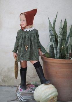 Ochuss Moda Infantil 2017 Vestidito Bebé Tijereta