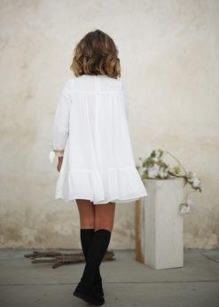 Ochuss Moda Infantil 2017 Vestido Luciérnaga