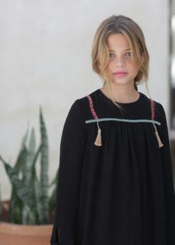 Ochuss Moda Infantil 2017 Vestido Ochuss