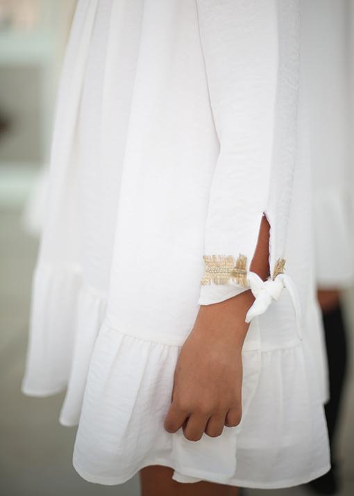 Ochuss Moda Infantil 2017 Vestido Luciérnaga Arras